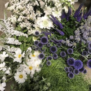 DIY Buckets of Blooms